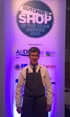 Bruce Edge at the Butchers Shop of the Year Awards 2015